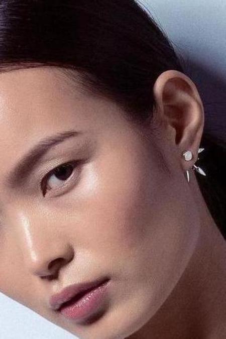 Pamela Love Beam Earrings - sterling silver/Moonstone/Topaz