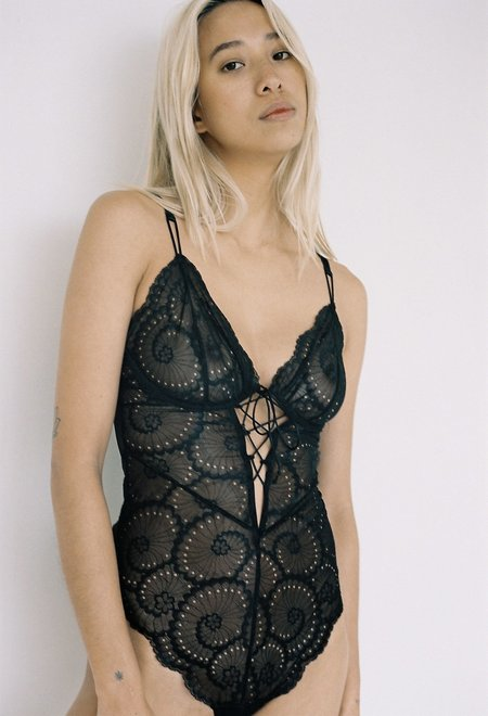 Lonely Label Delilah Bodysuit - Soot
