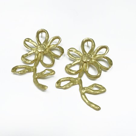 Susan Alexandra Grow Earrings - bronze
