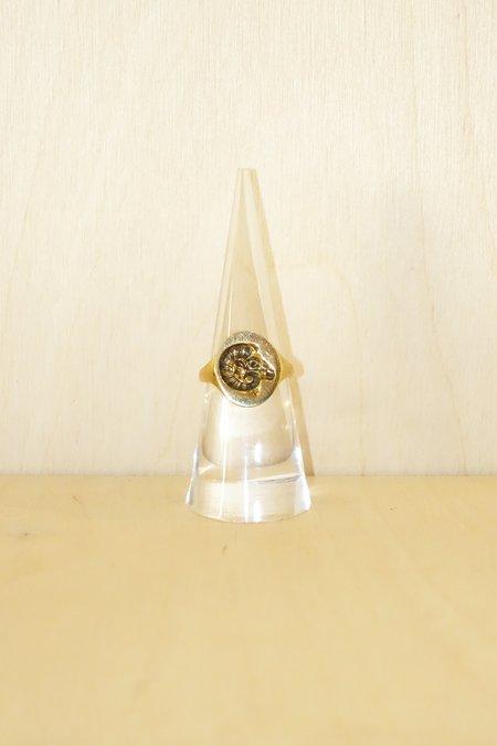 Talon Zodiac Signet Ring - Brass