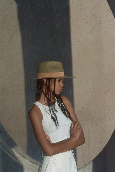 UNISEX Lack of Color The Mirage hat - Teak Brown