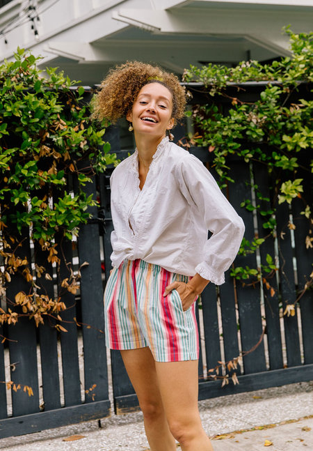 Plante Laila Short - Summer Stripe