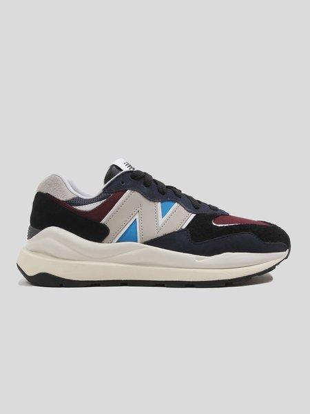 New Balance M5740TB sneakers - Navy/Burgundy/Multi