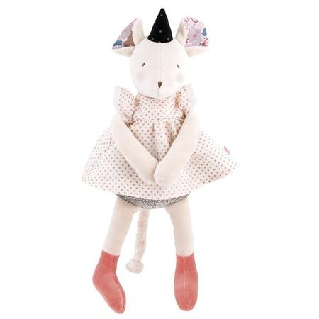 kids Moulin Roty Il Etait Une Fois Musical Mouse - Pink