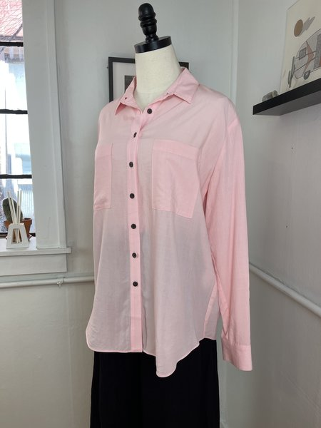 [pre-loved]  Mara Hoffman Margot Button Down - Pink