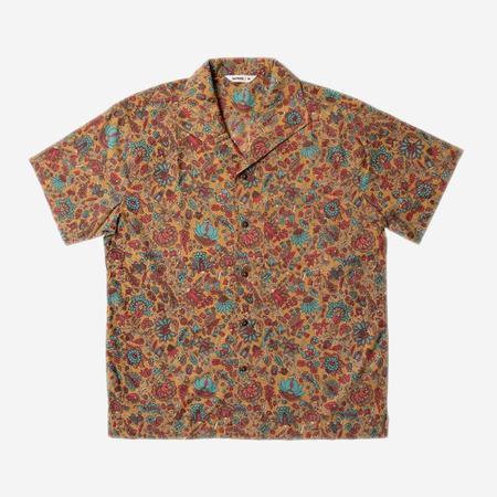 3Sixteen Leisure Short-Sleeve Shirt - Sand Floral