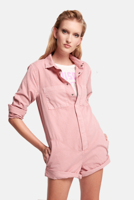 One Teaspoon Prophecy Jumpsuit - Dirty Pink
