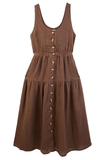 L.F.Markey Farrell Dress - Olive