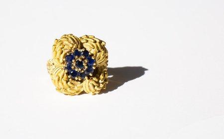 Kindred Black Olefine Ring - Gold