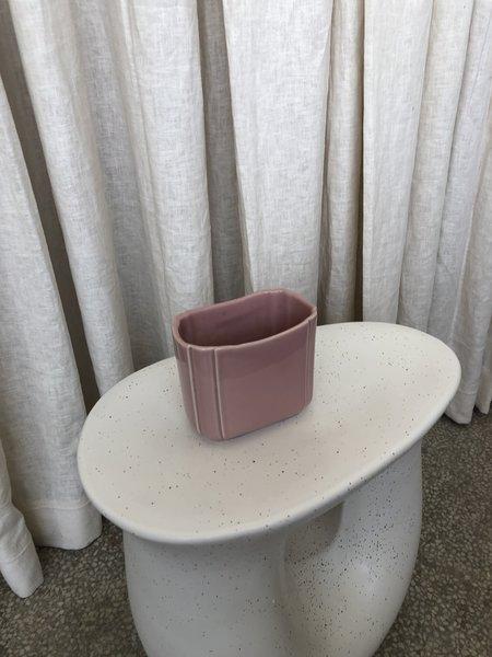 Vintage PLANTER - pink