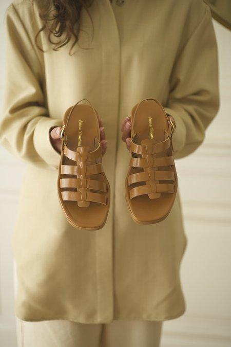 Anne Thomas Jérusalem Moroder Sandals - Naturale