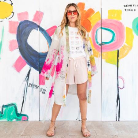 Kerri Rosenthal Studio Floor Kimono - Multi
