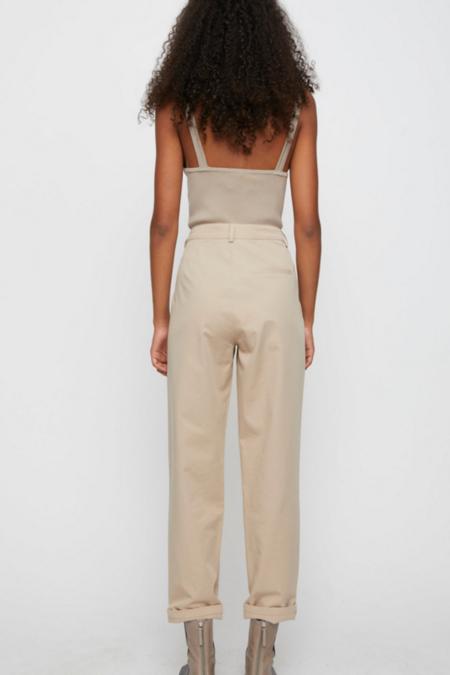Just Female Braga Knit Top - Cobblestone