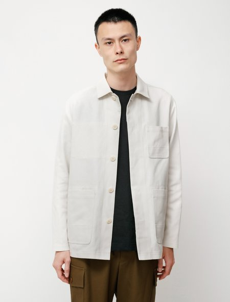 Niuhans Compact High Twisted Atelier Jacket - Off White