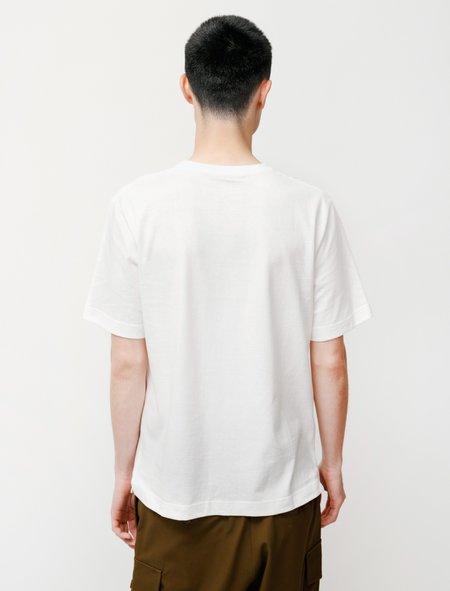 Niuhans Loopwheel S/S Tee - White