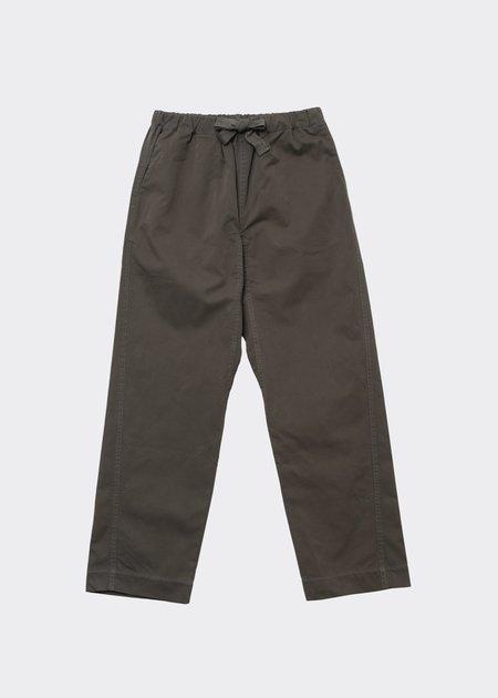 Caramel Judo Trousers - Dark Olive