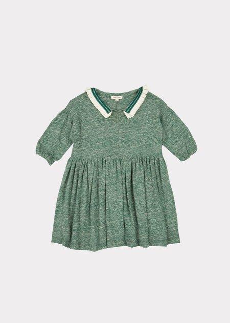 Kids Caramel Vaquita Dress - Green Melange