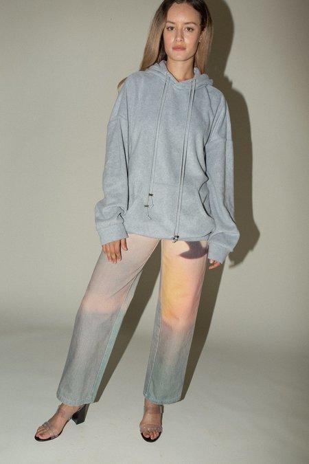 Priscavera Oversized Hoodie - Melange Grey
