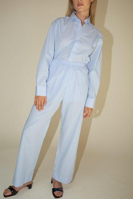 Baserange Ole Trousers - Blue Stripe