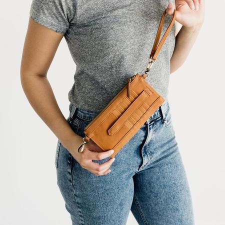 Sapahn Evelyn Wristlet Wallet - Whisky