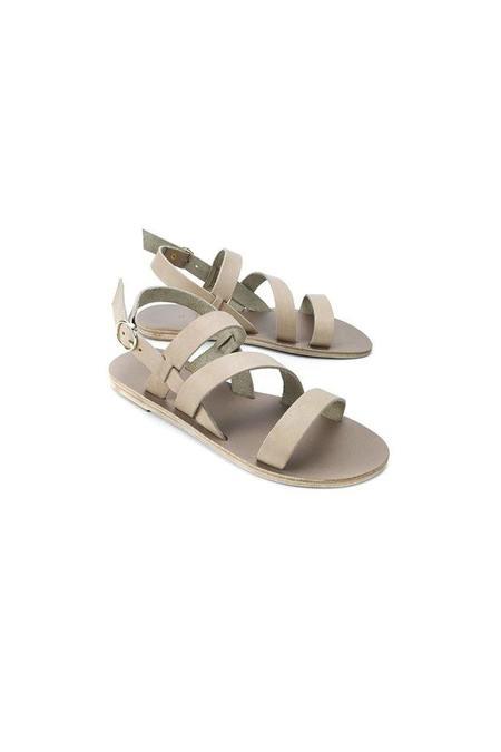 KYMA Kimolos Strappy Leather Sandal - Olive Beige