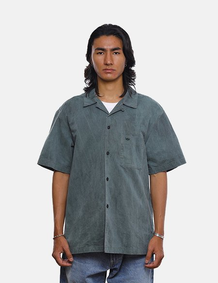 Liberaiders Overdyed S/S Shirt - Olive Green