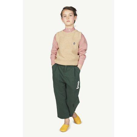 kids the animals observatory emu trousers - deep green tao