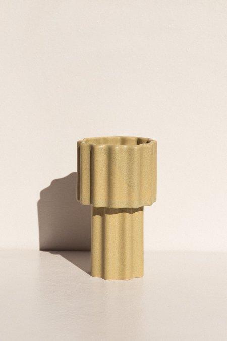 Ella Reweti Tall Tapered Vase - Wheat