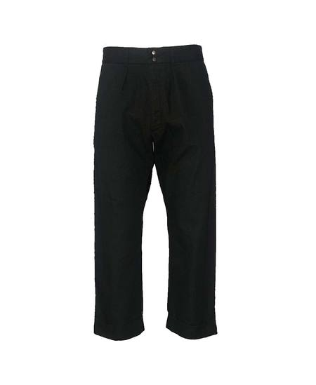 Fujito Wide Slacks - Black