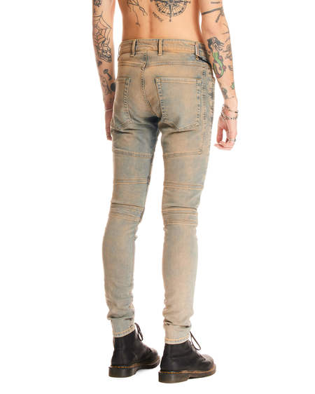 Represent Slim Biker Jeans - Blue/Grey