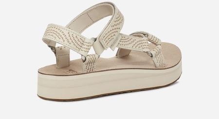 Teva Midformal Universal Geometric Sandal - White Swan