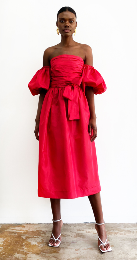 DELFI COLLECTIVE Charlotte Dress - Red