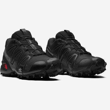 Unisex Salomon Speedcross 3 Shoe - Black/Black/Quiet Shade