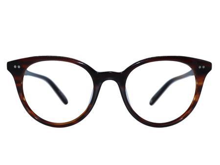 Garrett Leight Dillon 47 eyewear - brown