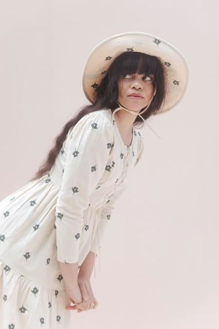 Samantha Pleet Forget Me Not Hat - ivory