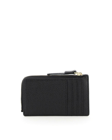 Marc Jacobs Leather Card Holder with Logo