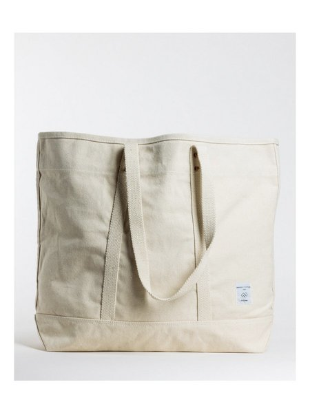 IMMODEST COTTON Large East West Tote - Natural