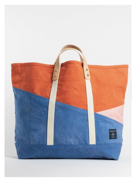 IMMODEST COTTON Naples East West Large Tote