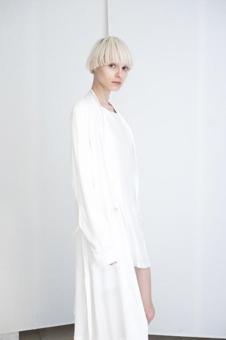 David Michael Collection Robe White