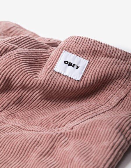 Obey Easy OD Chord Pant - Gallnut