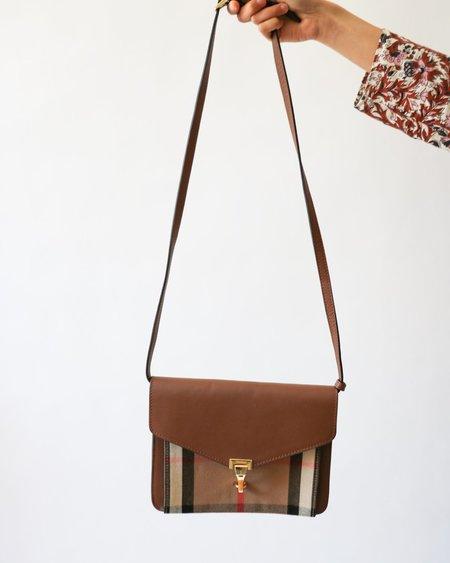[Pre-loved]  Burberry House Check Shoulder Bag