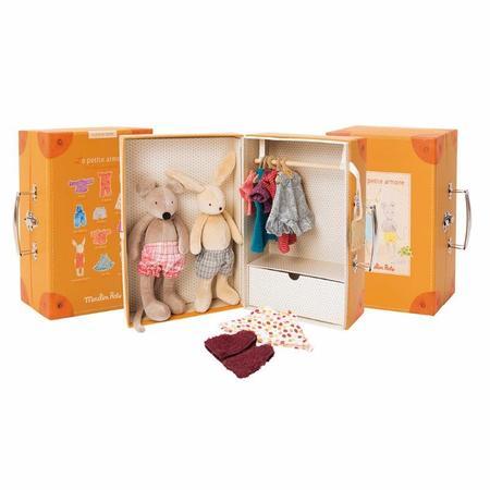 Kids Moulin Roty Little Wardrobe Suitcase