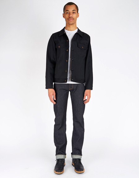 Tellason Japanese Selvedge Jean Jacket Black