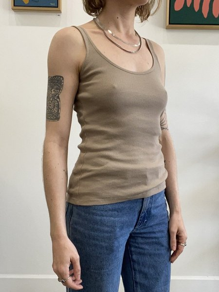 signe Lila Tank Top - taupe