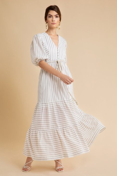 CHRISTY LYNN Minna Dress - white