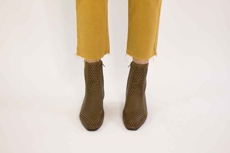 Rachel Comey Cove Boot - Brown Olive