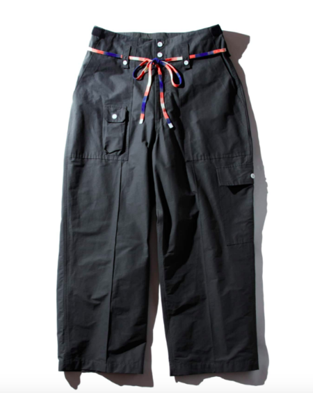 F/CE 60/40 RECYCLE UK CARGO PANTS - Charcoal