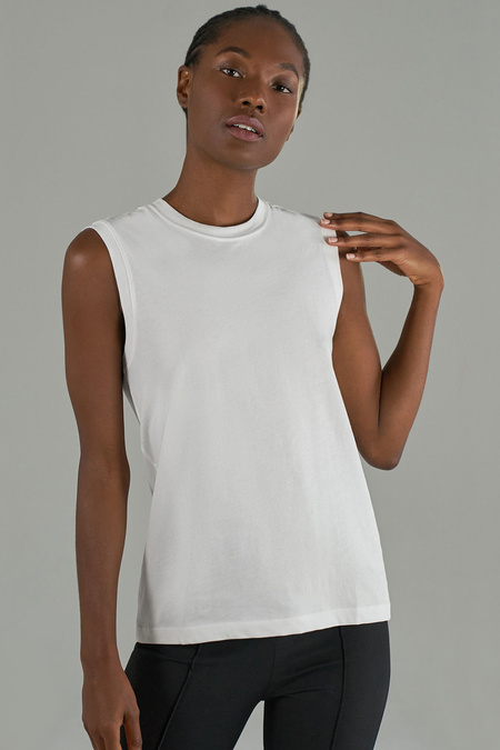 ATM Classic Jersey S/L Boy Tee - White