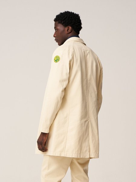Freemans Sporting Club Trench Coat - Tan