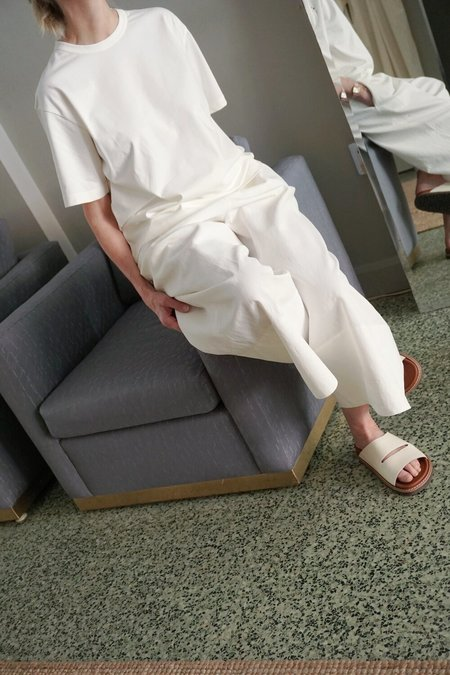 STUDIO NICHOLSON LEE T-SHIRT - white